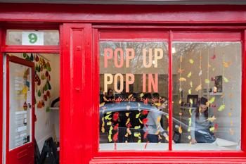 Learners Run Pop-Up Shop